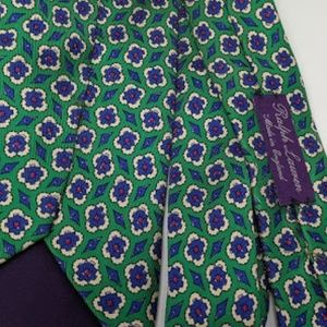 Ralph Lauren Purple Label silk handmade in England